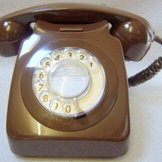 Brown 746 telephone