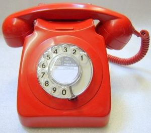 Red 746 telephone