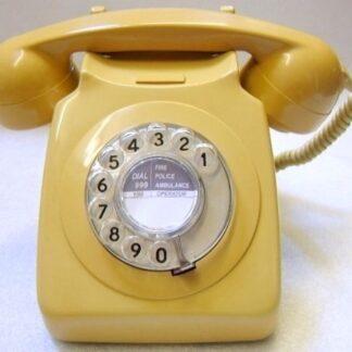 Topaz yellow 746 telephone