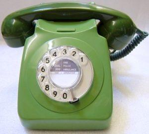Green 746 telephone