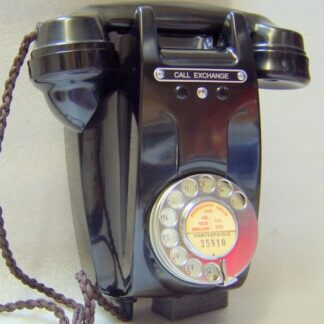 Black 321 telephone