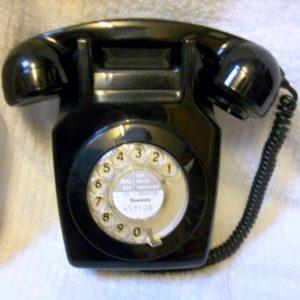 Black 741 telephone