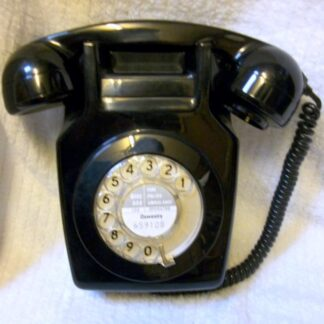 Black 741 telephone